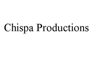 mark for CHISPA PRODUCTIONS, trademark #78467845