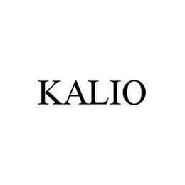 mark for KALIO, trademark #78468848