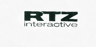 mark for RTZ INTERACTIVE, trademark #78468988