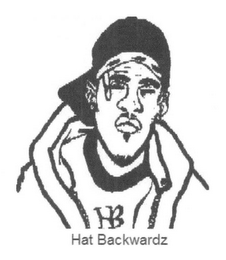 mark for HB HAT BACKWARDZ, trademark #78469135
