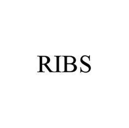 mark for RIBS, trademark #78469556