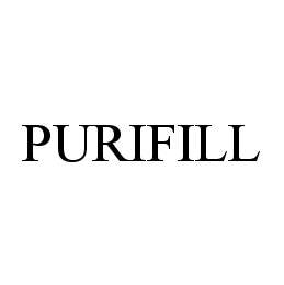 mark for PURIFILL, trademark #78469899