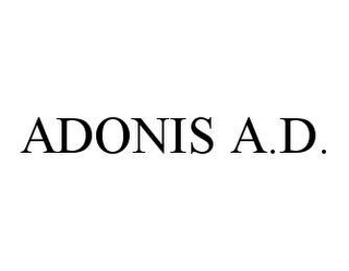 mark for ADONIS A.D., trademark #78470106