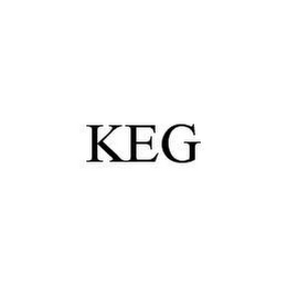 mark for KEG, trademark #78473221