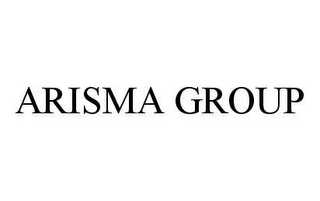 mark for ARISMA GROUP, trademark #78475005