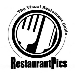 mark for RESTAURANTPICS THE VISUAL RESTAURANT GUIDE, trademark #78475641