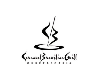 mark for CBG CARNAVAL BRAZILIAN GRILL CHURRASCARIA, trademark #78475875