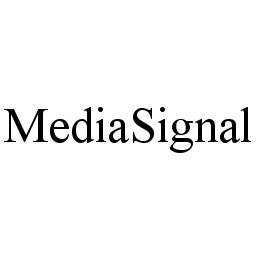 mark for MEDIASIGNAL, trademark #78475905