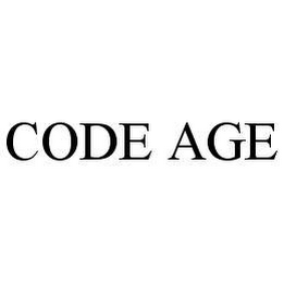 mark for CODE AGE, trademark #78475993