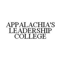 mark for APPALACHIA'S LEADERSHIP COLLEGE, trademark #78476408