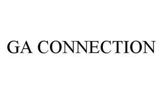 mark for GA CONNECTION, trademark #78476581