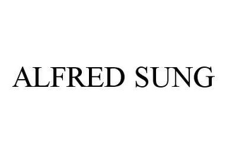 mark for ALFRED SUNG, trademark #78476636