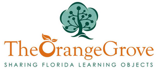 mark for THE ORANGE GROVE SHARING FLORIDA LEARNING OBJECTS, trademark #78477010