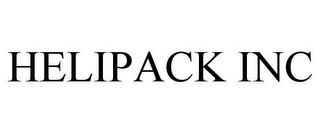 mark for HELIPACK INC, trademark #78478007