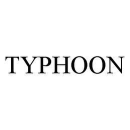 mark for TYPHOON, trademark #78478100