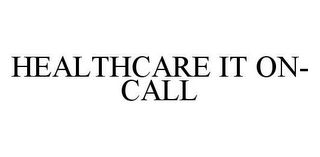 mark for HEALTHCARE IT ON-CALL, trademark #78478486