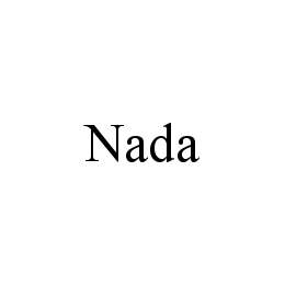 mark for NADA, trademark #78478610