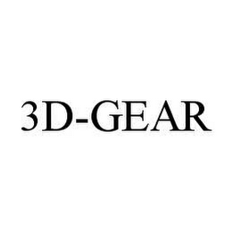 mark for 3D-GEAR, trademark #78479015