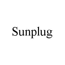 mark for SUNPLUG, trademark #78479128