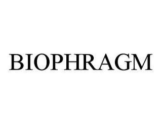 mark for BIOPHRAGM, trademark #78480169