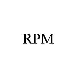 mark for RPM, trademark #78480210