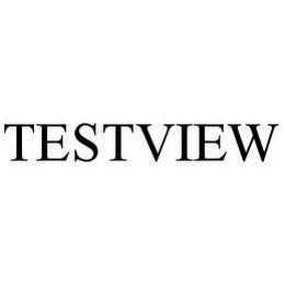 mark for TESTVIEW, trademark #78480330