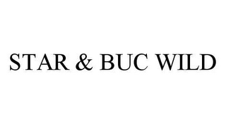 mark for STAR & BUC WILD, trademark #78480953