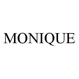 mark for MONIQUE, trademark #78481540