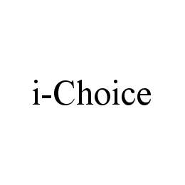 mark for I-CHOICE, trademark #78482259