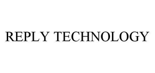mark for REPLY TECHNOLOGY, trademark #78483017