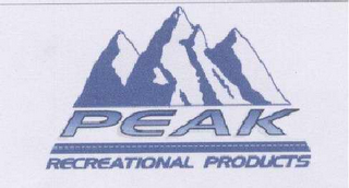 mark for PEAK RECREATIONAL PRODUCTS, trademark #78483208