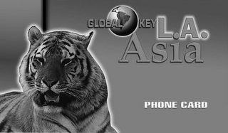 mark for GLOBAL KEY L.A. ASIA PHONE CARD, trademark #78483255