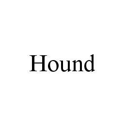mark for HOUND, trademark #78484318