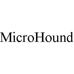 mark for MICROHOUND, trademark #78484324
