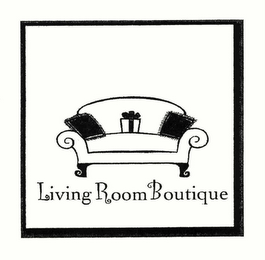 mark for LIVING ROOM BOUTIQUE, trademark #78484749