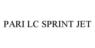 mark for PARI LC SPRINT JET, trademark #78484829