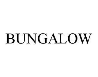 mark for BUNGALOW, trademark #78485407