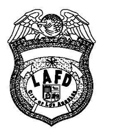 mark for L A F D CITY OF LOS ANGELES, trademark #78486258