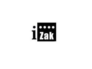 mark for IZAK, trademark #78486726