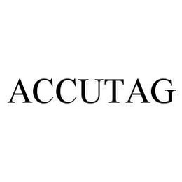 mark for ACCUTAG, trademark #78487209