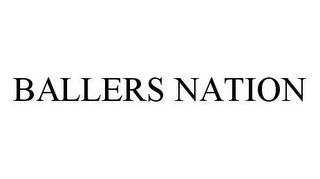 mark for BALLERS NATION, trademark #78487338
