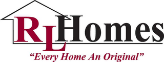 "mark for RL HOMES ""EVERY HOME AN ORIGINAL"", trademark #78487554"