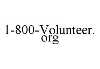 mark for 1-800-VOLUNTEER.ORG, trademark #78489221
