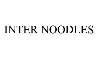 mark for INTER NOODLES, trademark #78489557