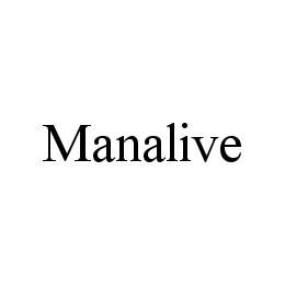 mark for MANALIVE, trademark #78490366