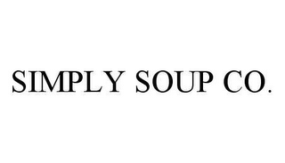 mark for SIMPLY SOUP CO., trademark #78490466