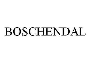 mark for BOSCHENDAL, trademark #78490723