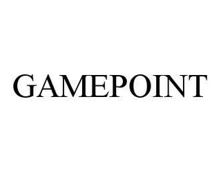 mark for GAMEPOINT, trademark #78490727