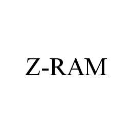 mark for Z-RAM, trademark #78490817