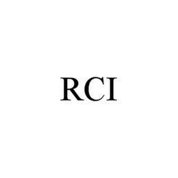 mark for RCI, trademark #78491343